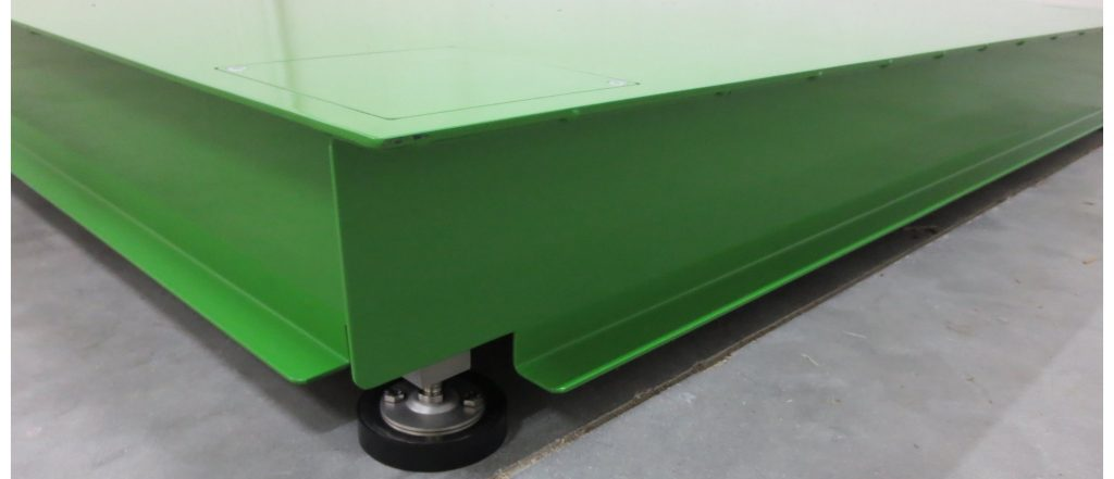 Truck scale detail - Temo Pese